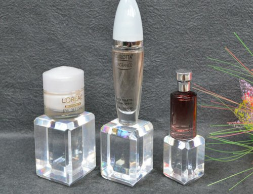 display cosmetic design stand, cosmetic acrylic display stand