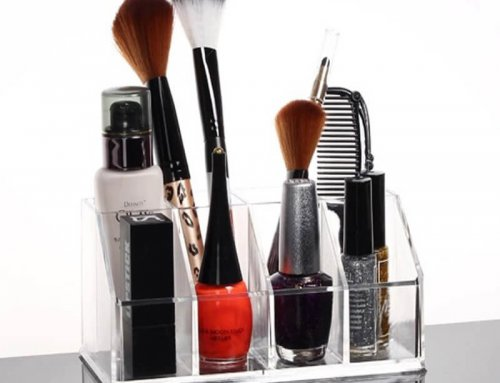 acrylic cosmetic brush display stand, cosmetic brush display stand